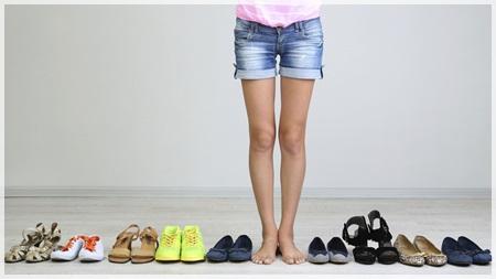 靴を変える