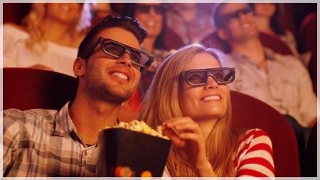 平日の映画館デート
