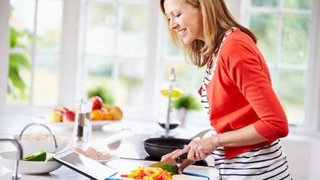 料理の腕を磨く
