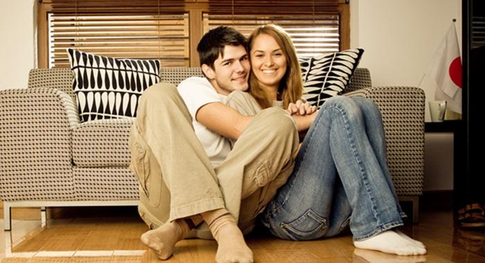 一人暮らし,家デート,おうちデート,カップル,彼女,彼氏,画像
