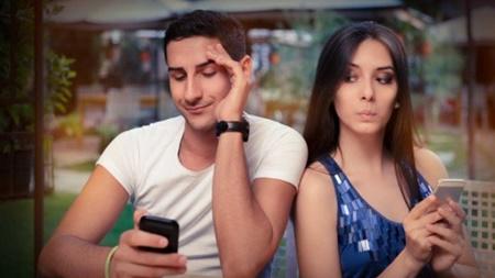 メールや電話がマメ 境界線