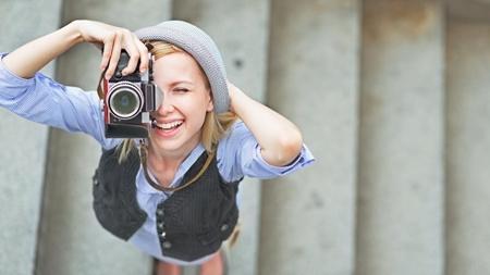カメラが趣味な女性はクリェイティブ