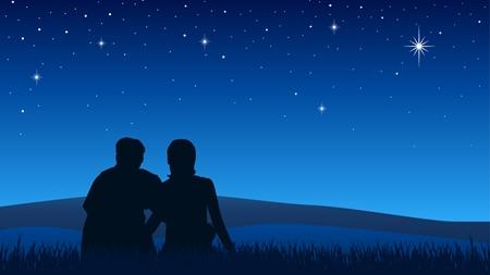 夜の世界、プラネタリウム