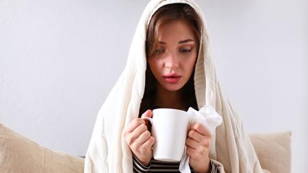風邪をひいて具合が悪くなった時
