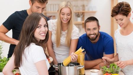 料理を通じたコミュニケーション
