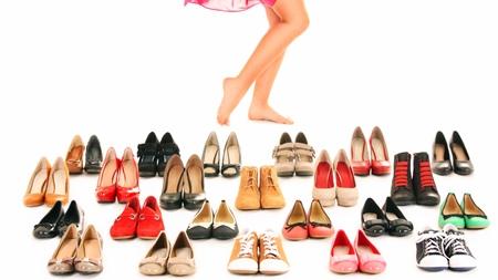 履きなれた靴を選ぶ