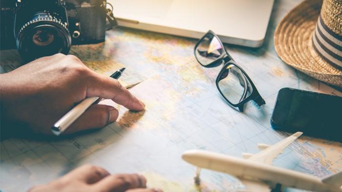 旅行の当日より計画に張り切るタイプ