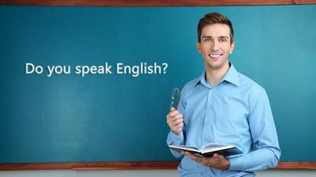 語学教室に通う