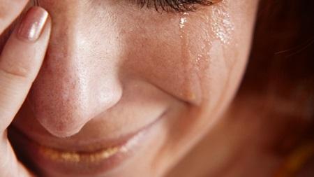 思い切り泣