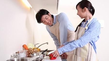 家で料理対決