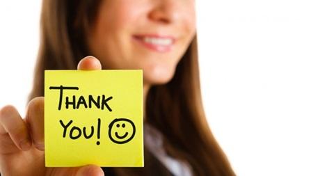 お礼を忘れずに言うこと 感謝の気持ちを