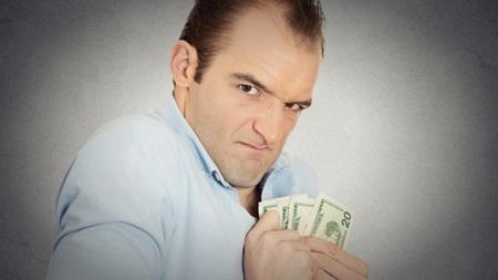 金銭管理ができない旦那